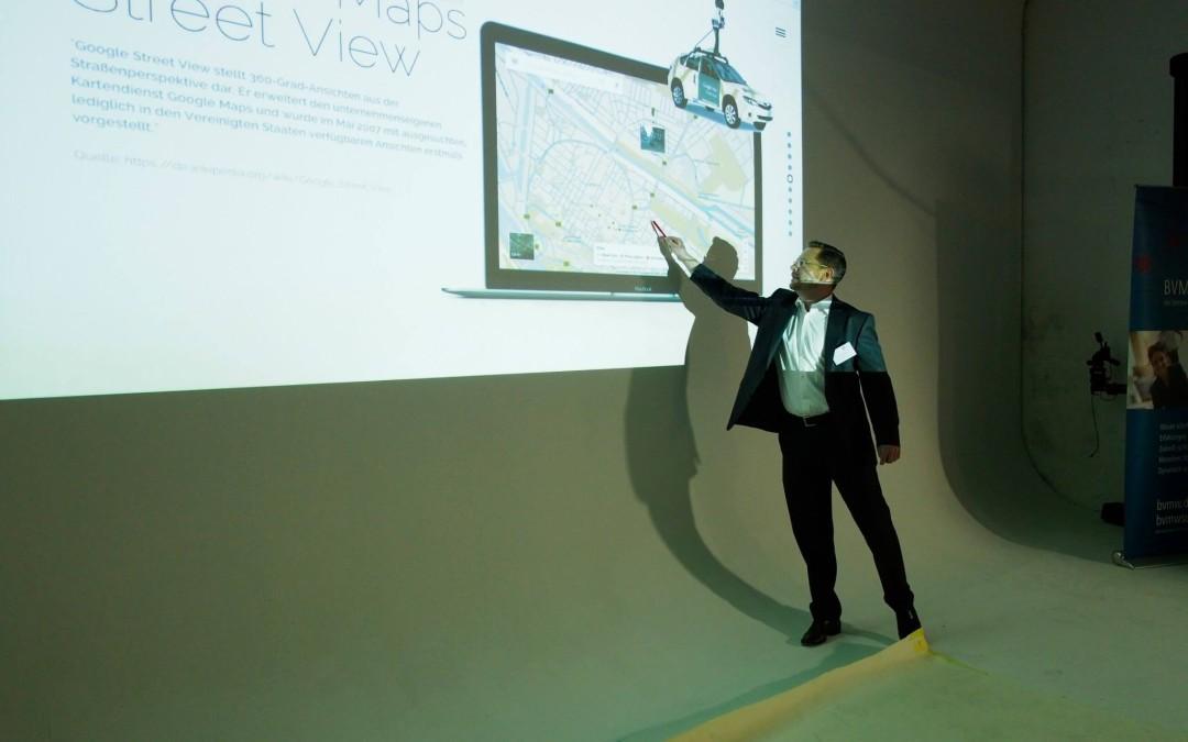 Vortrag am 10.09.2015 über Google Business View am BVMW Unternehmerabend