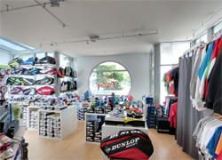 Racket Center Shop